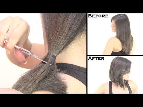 Cómo cortar el cabello estilo bob Cambio de look Bob haircut