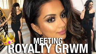 GET GLAM WITH ME: I MET ROYALTY !!! 👑