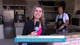 Ex-participante do BBQ Brasil fala sobre seu amor pelo churrasco