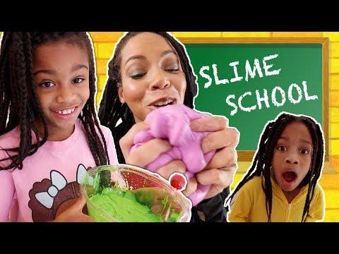 Slime School Get Caught Sneaking New Toy School