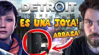PS4 SE LLEVA OTRA JOYA MÁS!! | Detroit ES MAGNÍFICO!! | PS4 ARRASA! | David Cage
