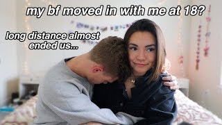 my boyfriend moved in with me at 18