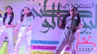 قناة اطفال ومواهب الفضائية حفل اليوم الوطني 87 في عالم اطفال ومواهب
