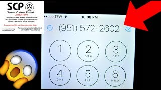 CALLING SCP FOUNDATION AGAIN!!! - (951) 572 - 2602 - Scary Phone Calls!