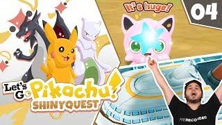 A SHINY I DIDNT EXPECT!! Pokémon Let's Go Pikachu Shiny Quest Let's Play! Episode 4
