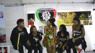 ALL FEMALE REGGAE BAND ADAHZEH at Rebel Salute 2017