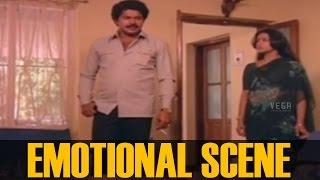 Mammootty and Seema Emotional Scene ||  Sandhyakku Virinja Poovu