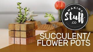 How to Make Flower Pots / Planter - MakingStuff