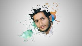 Awesome  Creative Face Photo Menipuletion Photoshop tutorial Paint Splash using Brush