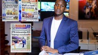 MAGAZETI: Sakata la vyeti feki latua kwa Magufuli, kuwaza sana kunaua mapema