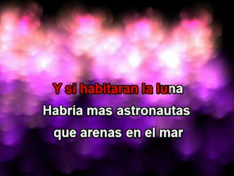 Mujeres con letra Ricardo Arjona Karaoke