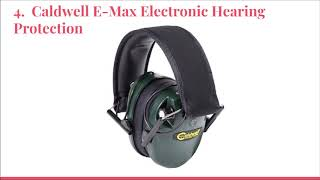 Top 10 Best Electronic Hearing Protections in 2019