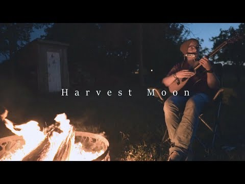 Neil Young - Harvest Moon (Acoustic cover by the fire)