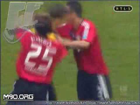 el gol mas raro del mundo