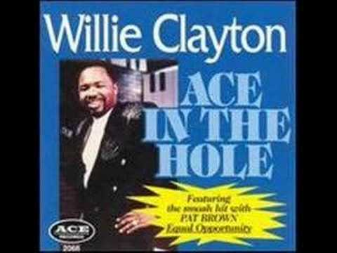 Willie Clayton Equal Opportunity getbluesinfo