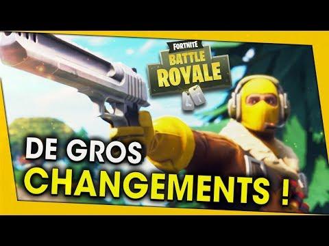 DE GROS CHANGEMENTS SUR FORTNITE BATTLE ROYALE !