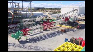 Tutt Bryant's new Terex Demag CC8800-1 Crawler Crane Assembly the largest in Australia