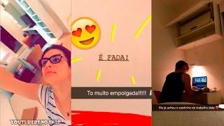 KÉFERA NO RIO PARA GRAVAÇÃO DE SEU FILME! - Youtubers no Snap