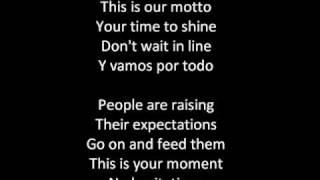 shakira waka waka lyrics