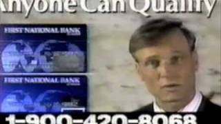 First National Bank of Marin commercial - 1990