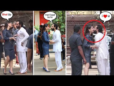Xxx Mp4 Saif Ali Khan FIGHTS With Kareena Then Apologizes During Veere Di Wedding Shoot 3gp Sex