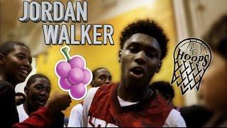 Seton Hall commit Jordan Walker hits beautiful step back Game Winner!