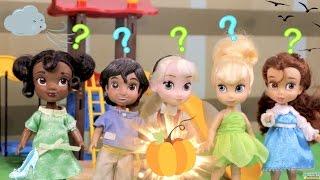 Princesitas de Disney: La llegada de Cenicienta en Carruaje Volador!