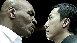 On the set of IP Man 3 (Donnie Yen - Mike Tyson)