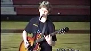 10 year old guitarist, Stevie Ray, SVR, Pink Floyd, Time