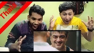 Vedalam Thala Ajith Transformation Scene || Reaction & Review || BY leJB ..