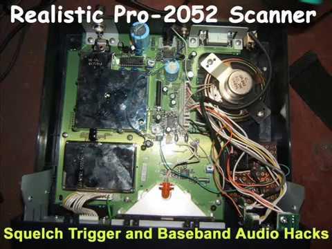 Homemade Repeater using Radio Shack PRO 2052 and Icom V68