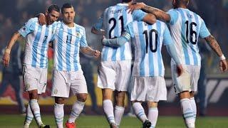 All 7 Goals Argentina vs Paraguay (6-1) in Copa America