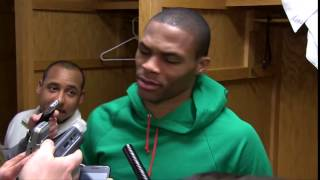 Ya Niggas Trippin Russell Westbrook Post Game Interview Short (Free Download)