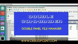 Double Commandar 0.7.1 Beta Available for Download – How to Install in Ubuntu, Linux Mint