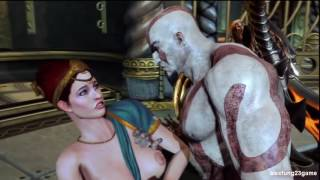 God of War 3  - Full Story version (Part 11 Using Naked girl)