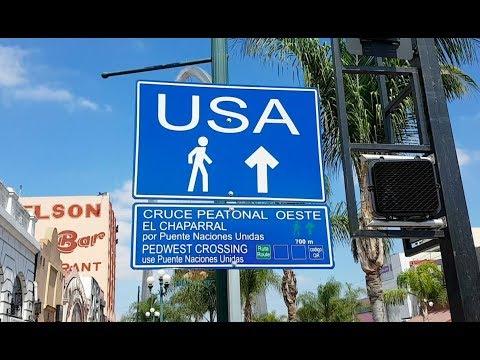 Xxx Mp4 Como Es CRUZAR La Frontera USA MEXICO A PIE Explorando Tijuana 3gp Sex