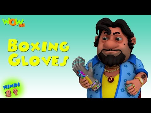 Boxing Gloves - Motu Patlu in Hindi - 3D Animation Cartoon for Kids -As seen on Nickelodeon