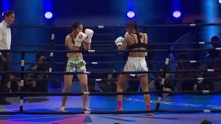 Girls Kickboxing | WLF Kickboxing Toronto | Christina Best vs Li Huang Round 2