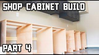 Lower Shop Cabinet Build // Part 4