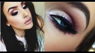 ♡ Fall makeup tutorial | Sexy smokey plum cat eye ♡