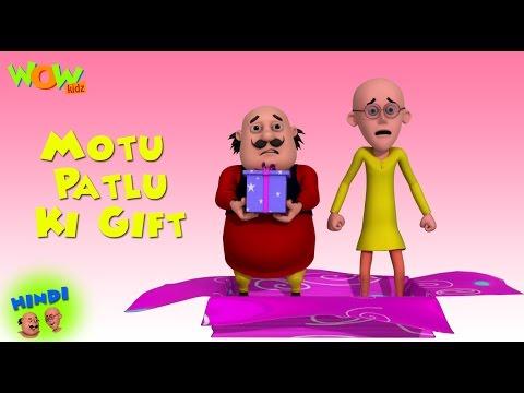 Motu Patlu Ki Gift - Motu Patlu in Hindi - 3D Animation Cartoon for Kids -As seen on Nickelodeon