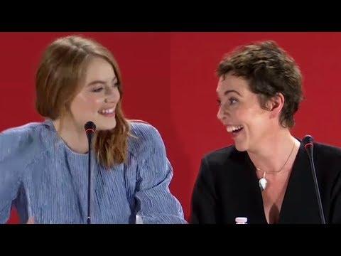 Xxx Mp4 Olivia Colman Really Enjoyed Lesbian Sex Scene With Emma Stone 3gp Sex