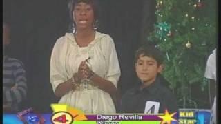 Diego Revilla singing in Lusaka, Zambia
