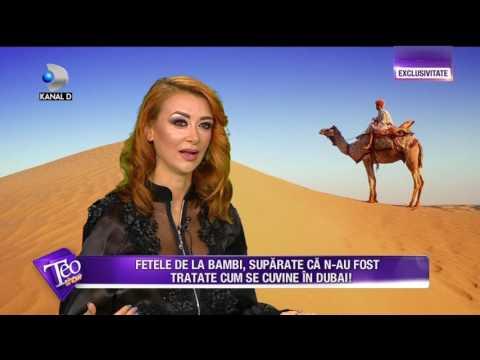 Teo Show (04.04.2017) - Fetele de la Bambi nu au fost tratate cum se cuvine in Dubai! COMPLET