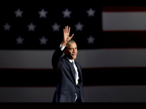 Watch President Barack Obama s full farewell speech