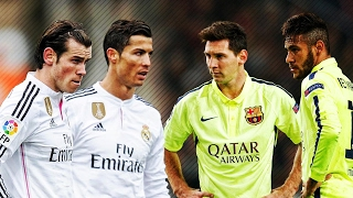 Gareth Bale & Cristiano Ronaldo vs Lionel Messi & Neymar Jr
