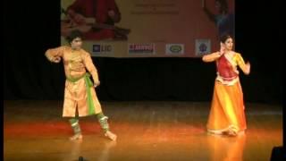 Shinjini Kulkarni (kathak dancer and actor) with Sunny Shishodiya