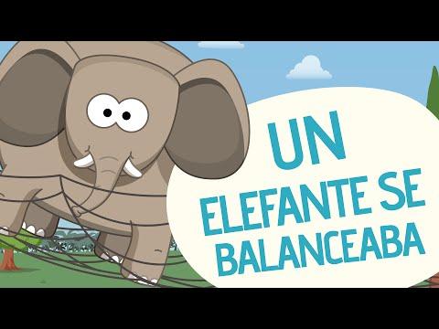 Un elefante se balanceaba Canciones infantiles Toobys