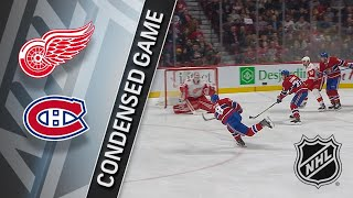 12/02/17 Condensed Game: Red Wings @ Canadiens