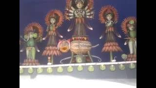 malda krishok bazar durga puja thim 2016